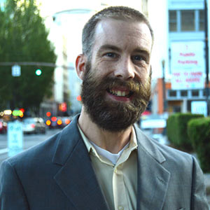 Jeff in Portland downtown